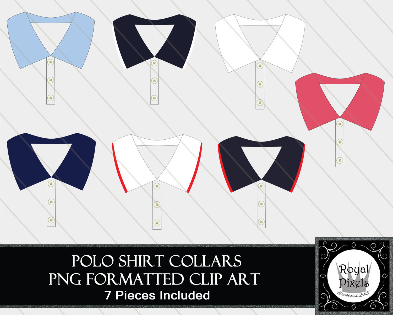 Suit clipart shirt collar Piece Shirt this Buttoned Clip