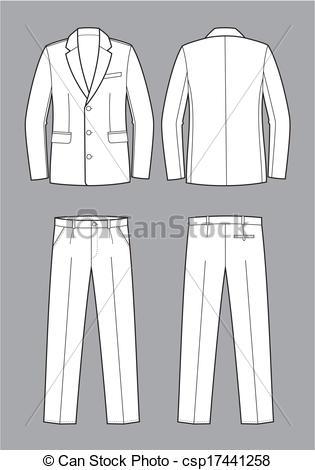 Suit clipart suit coat Men's Clipart Business suit