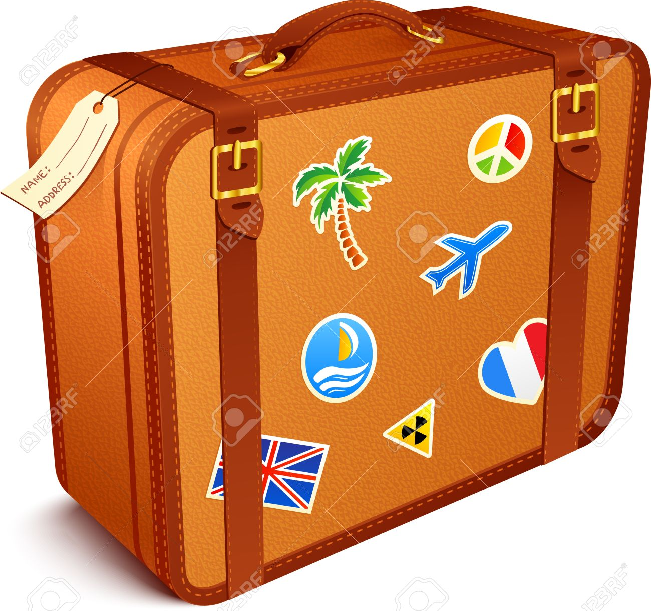 Suitcase clipart Of clip art collection Suitcase