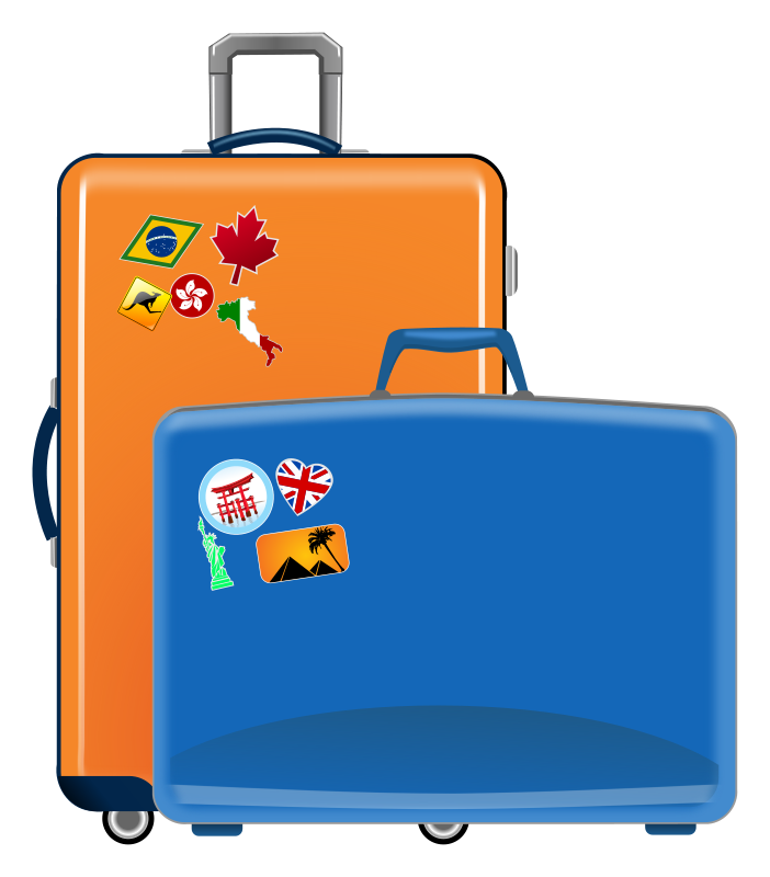 Suitcase clipart Free Cliparting 50 Suitcase Suitcase