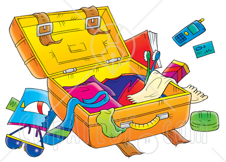 Vacation clipart suitcase Clipart Download Luggage Packing Luggage