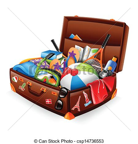 Vacation clipart suitcase Vacation suitcase Vacation of