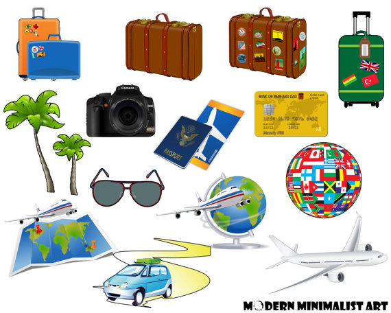 Vacation clipart suitcase Vacation Clipart Travel 14 Suitcase