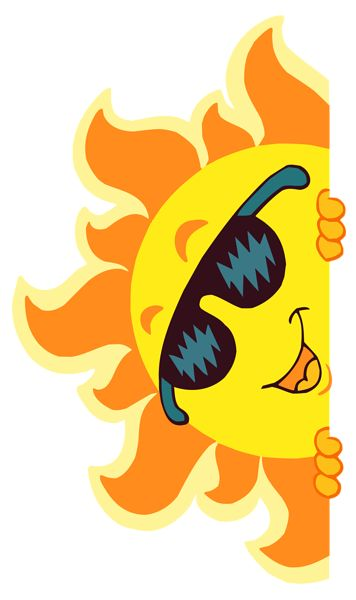 Morning clipart summer Summer Sun Smiling Transparent PNG