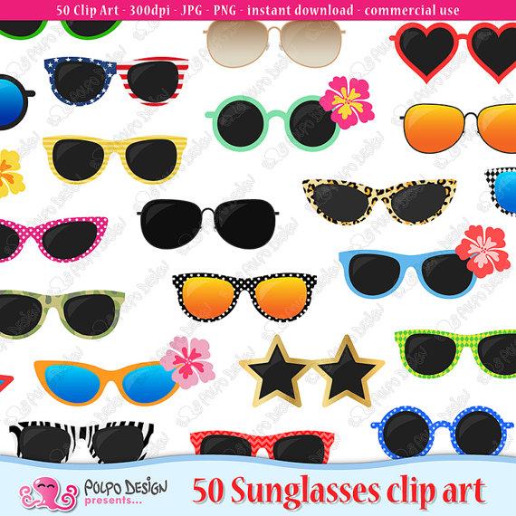 Summer clipart summer shades #7