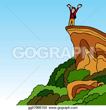 Summit clipart mountain trekking Summit · Reaching Clip Free