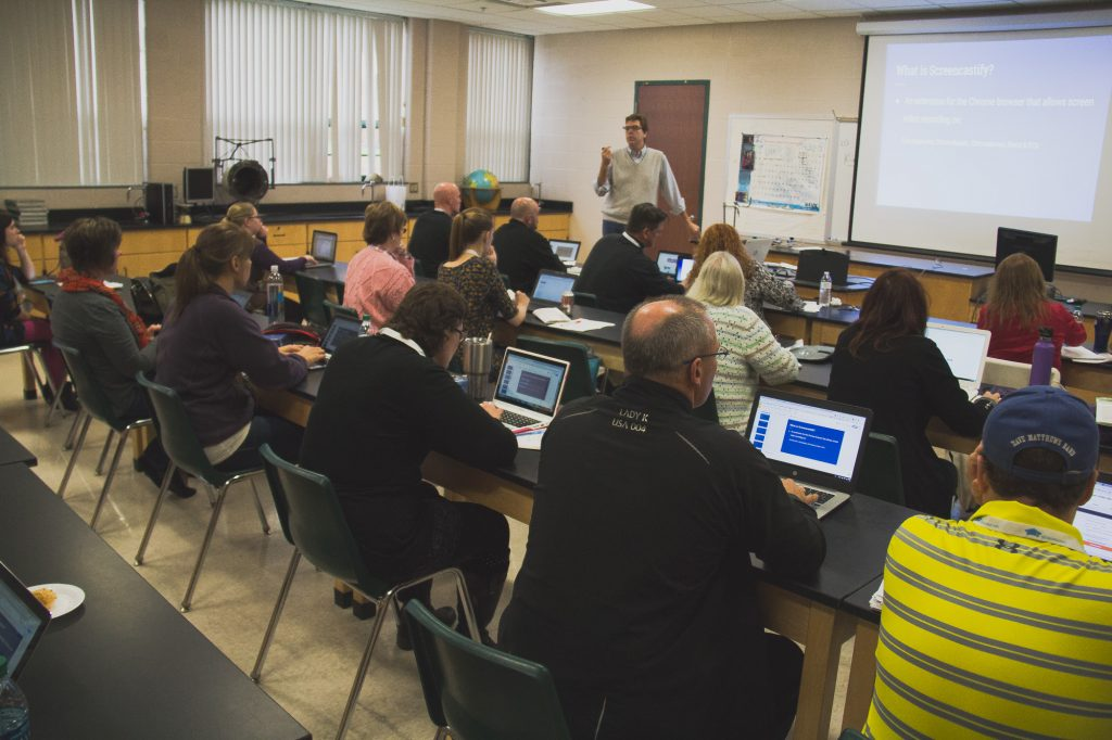 Summit clipart classroom discussion Educators by two of Michigan