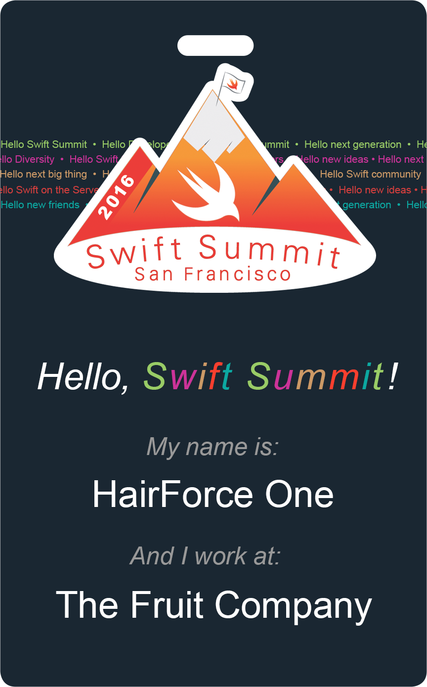 Summit clipart conference call Summit Developers Swift Swift Swift