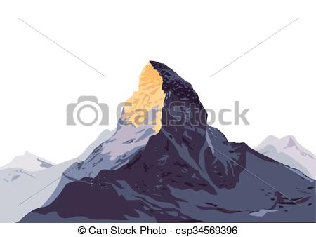 Summit clipart mountain trekking Mountain Climbing Trekking of eps