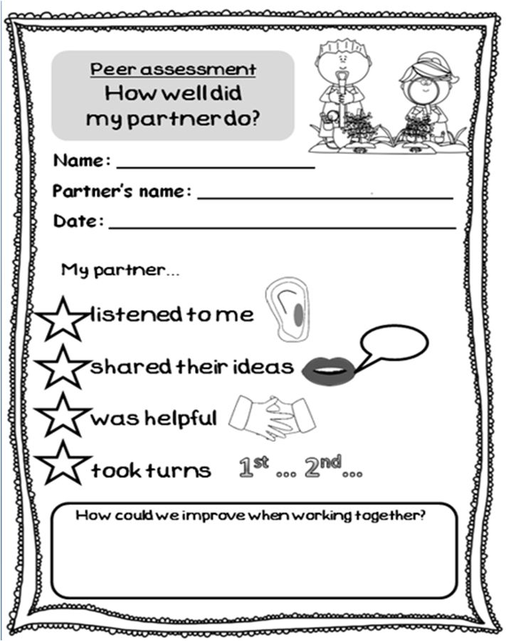 Summit clipart peer assessment 25+ Pinterest Free evaluation work