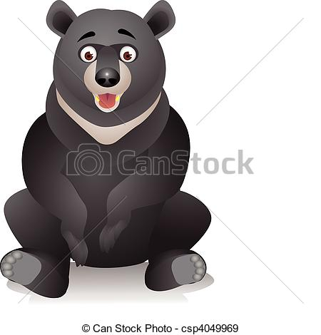 Brown Bear clipart sun bear Vectors bear bear cartoon Black