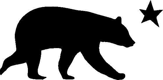 Grizzly Bear clipart california bear Free Clipart Images California California%20clipart