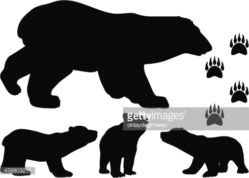 Brown Bear clipart sun bear Bears clipart brown outline cub