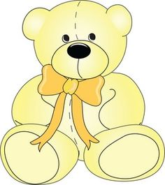 Adorable clipart toy bear Always Teddy bear support protective