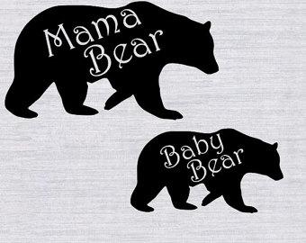 Bear Cub clipart momma Mama Baby Bear mama Baby