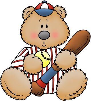 Baseball clipart bear Clip art 3 and osos