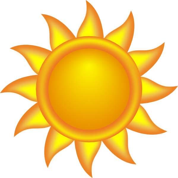 Sun clipart Sun clipart clipartcow art Cliparting