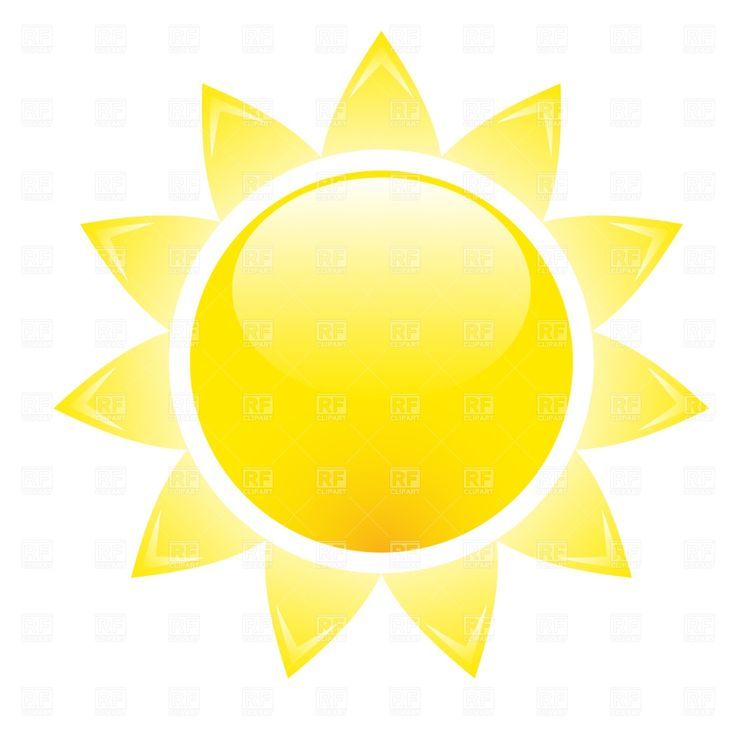 Sun clipart Bright image clip a bright