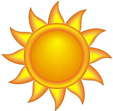 Sun clipart Yellow a simple and Art