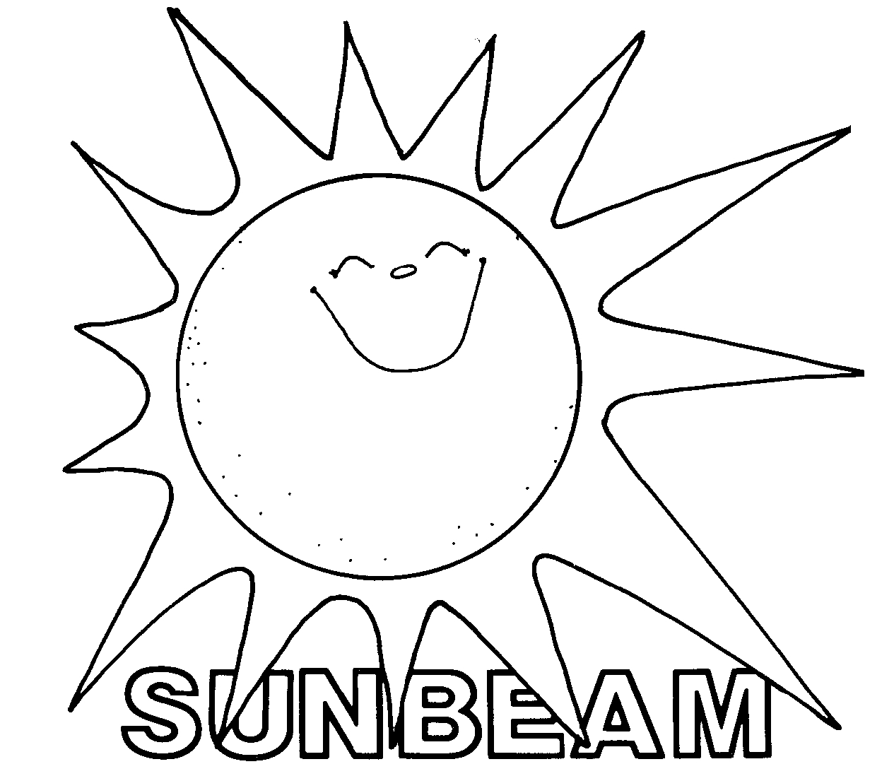 Sunbeam clipart } Share cg_sunbeam Mormon Sunbeam