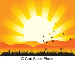 Sunbeam clipart Grass 720 Sunbeam nature Stock