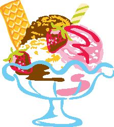 Sundae clipart Illustration illustration Pinterest art Description