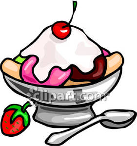Banana Split clipart dish Free Picture Ice Free Picture