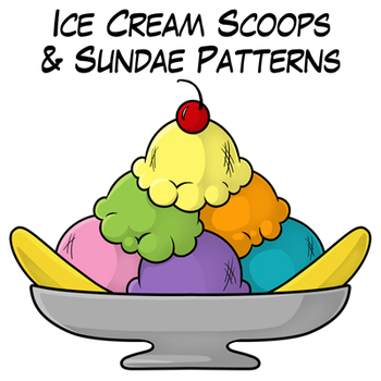 Banana Split clipart ice cream sundae bar Images Free Panda Sundae Clipart