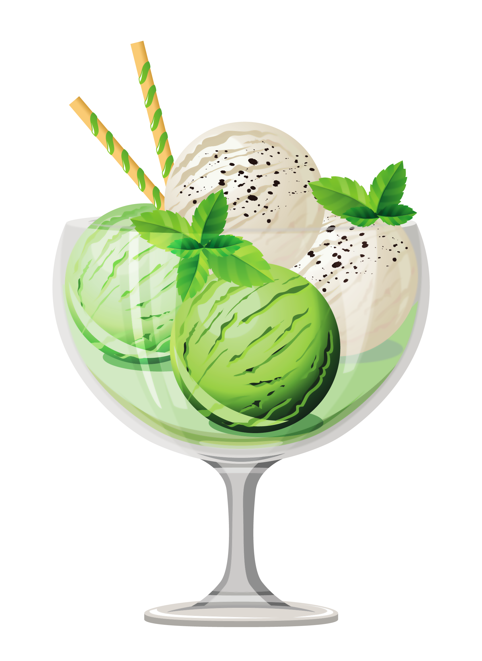 Mint clipart icecream Sundae Cream Transparent Yopriceville Picture