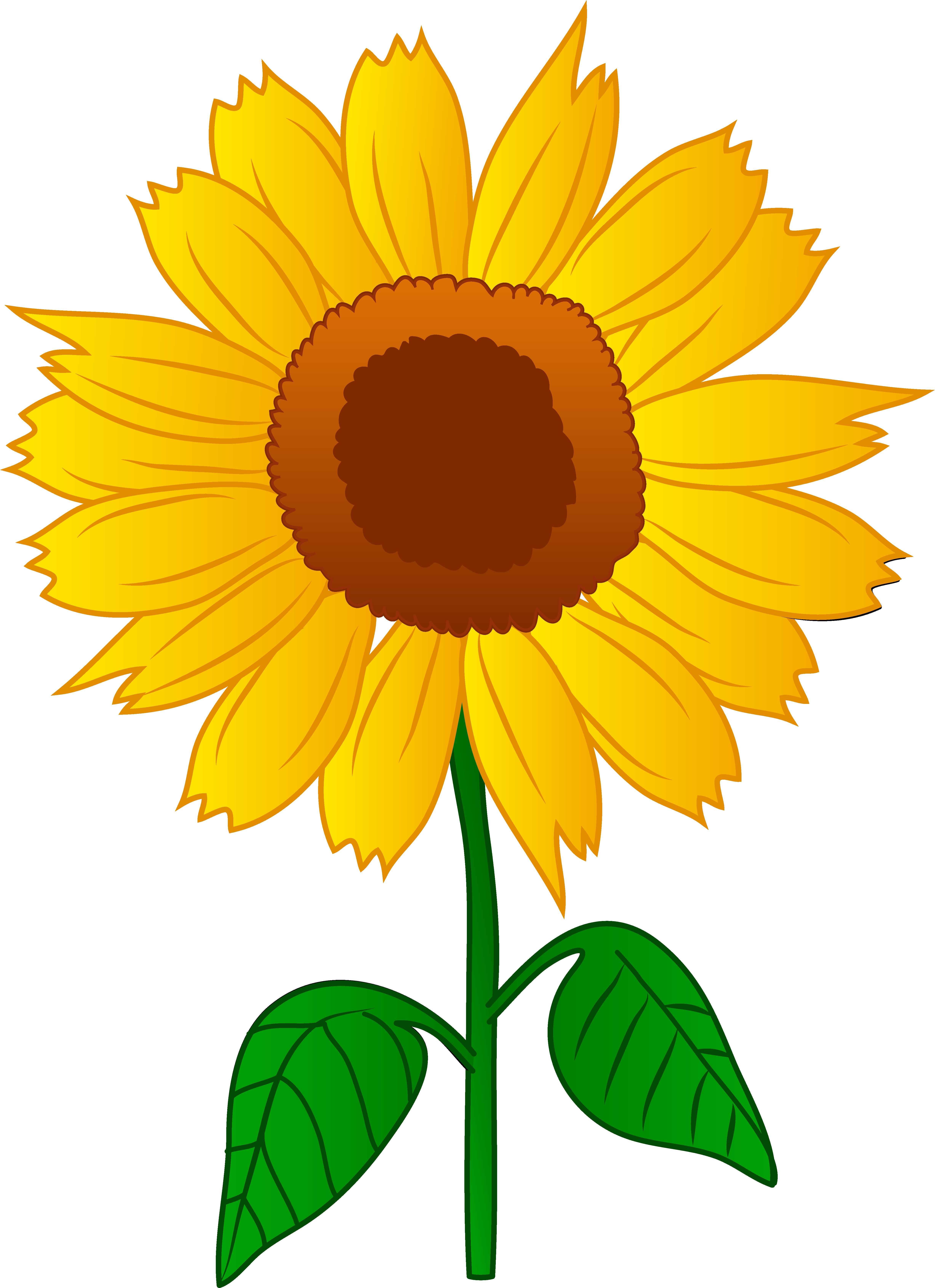 Triipy clipart sunflower Art Sunflower Printable Sunflower Clip