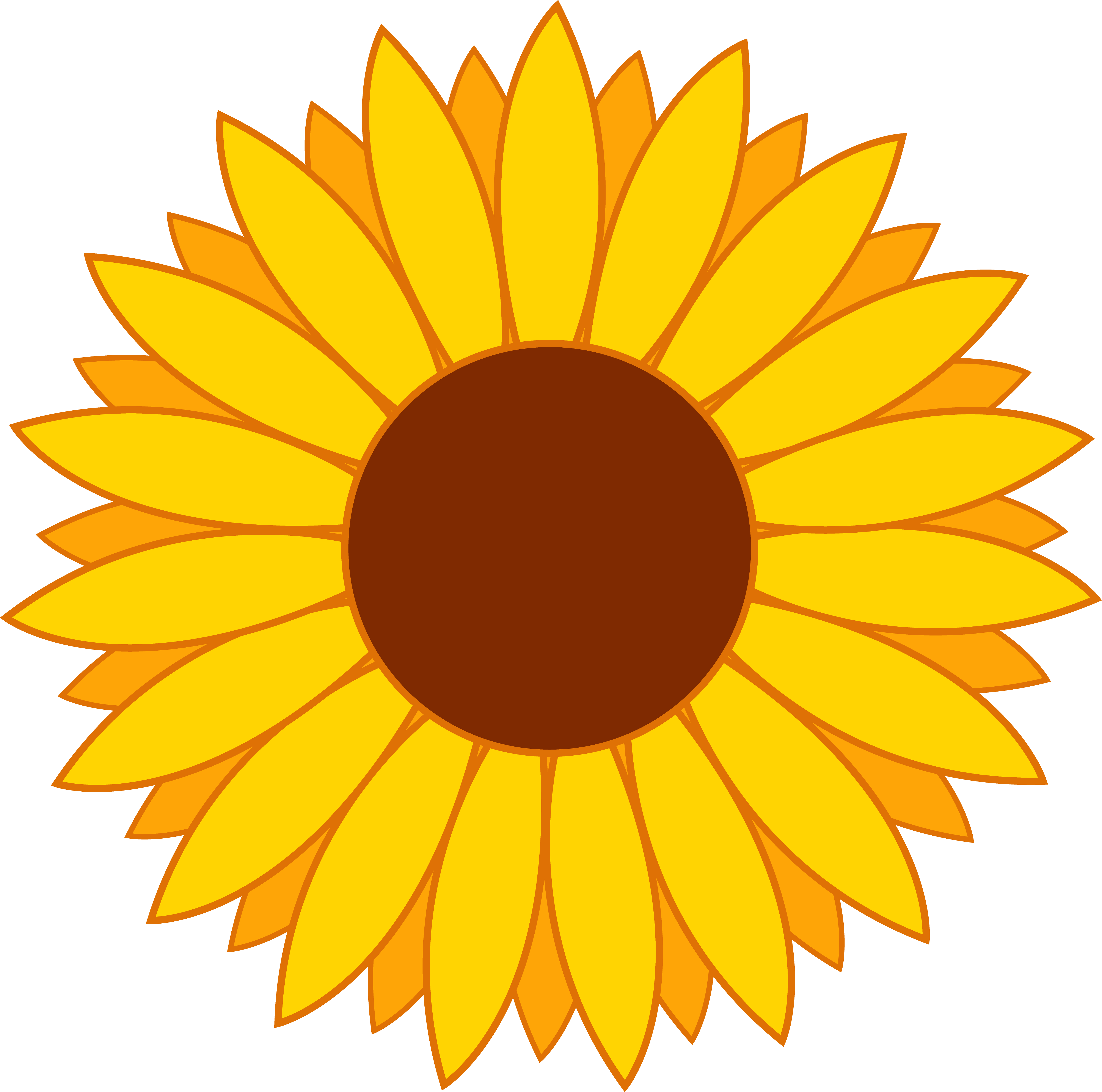 Sunflower clipart Clip Clipart Sunflower Free Printable