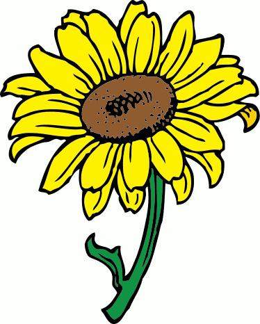 Yellow Flower clipart 70 flower Free Panda Sunflower Sunflower Clipart