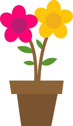 Petal clipart potted flower Minus Lane Danielle Birdie (daniellemoraesfalcao)