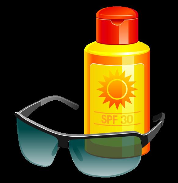 Beach clipart sunscreen Sunscreen Sunscreen Sunglass ~*✒️Clip