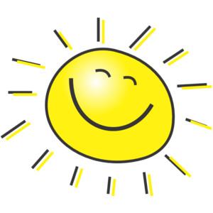 Sunlight clipart Clipart Face Sun Sunlight Clipart