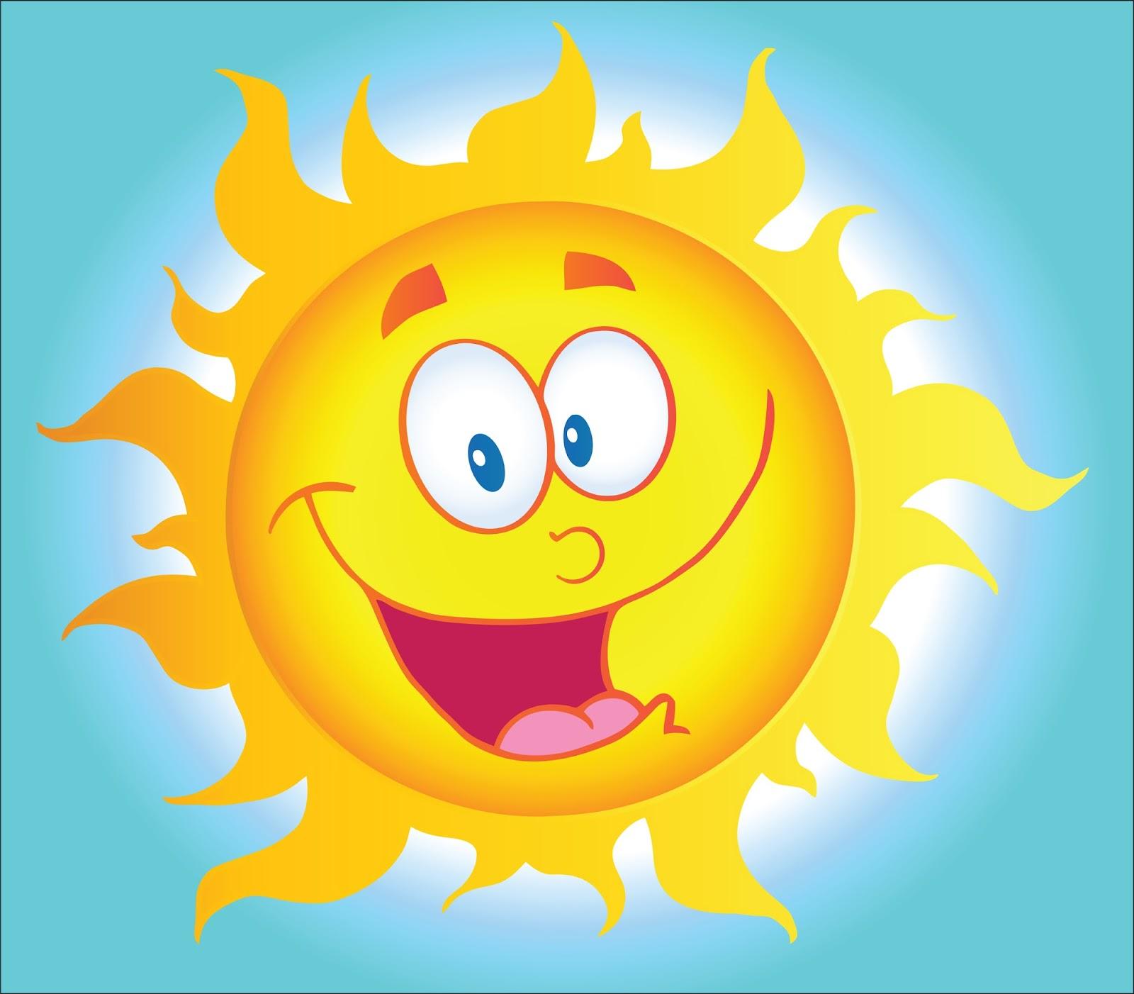 Sunny clipart Art Clipart Happy Clipart —