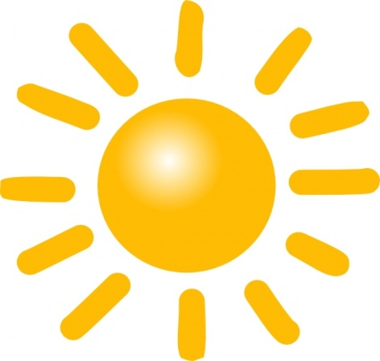 Warmth clipart sunny Clipart Clipart Sunny Clip Images