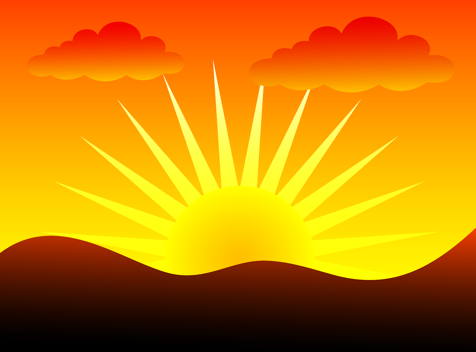 Dusk clipart Pictures Sunrise free clipart eventing