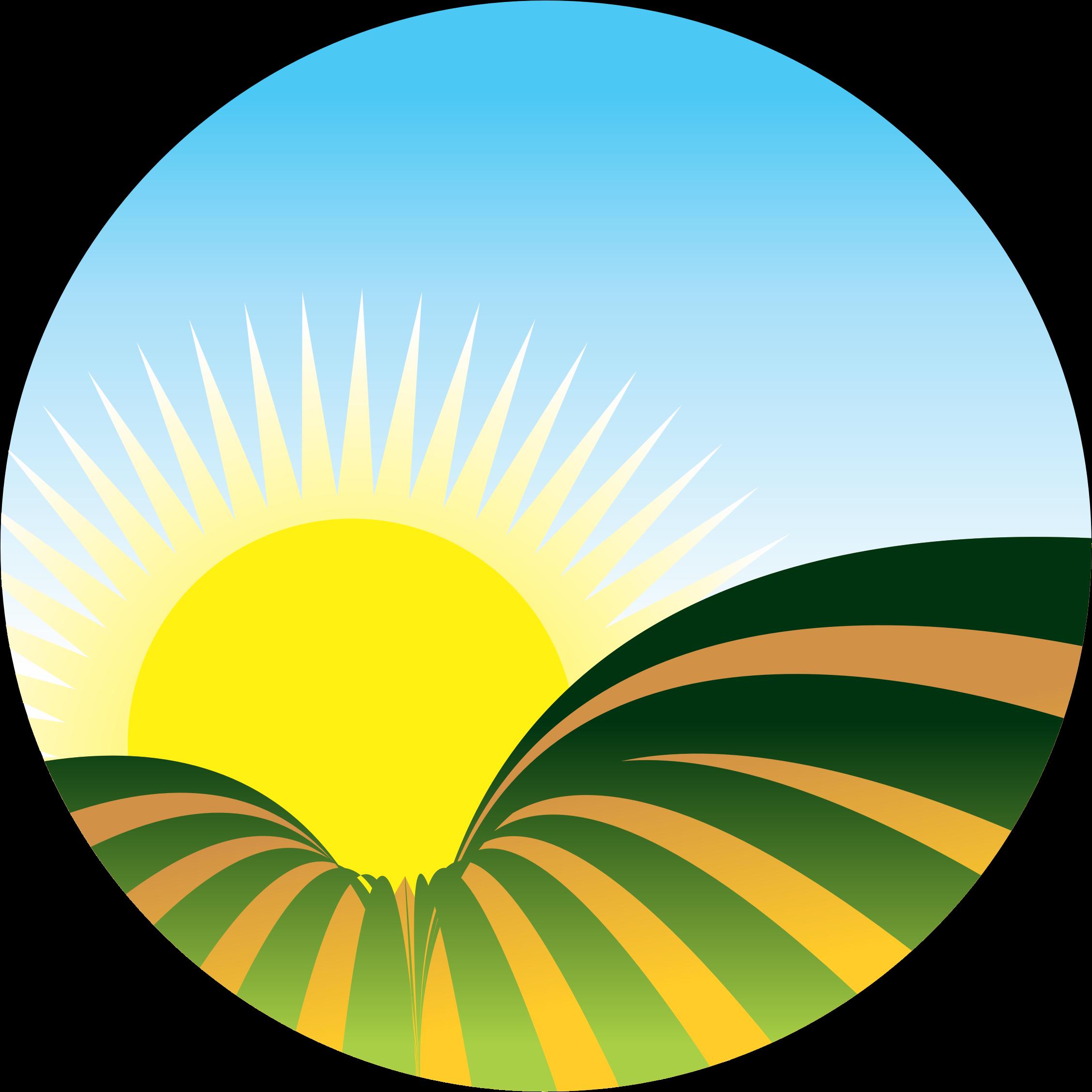 Yellow clipart sunrise Sunrise free clipart Clipartix icon