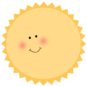 Clouds clipart cute Sun Polyvore 1 Art Volume
