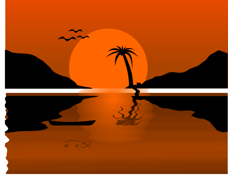 Sunset clipart Sunset clipart image clipart clipart