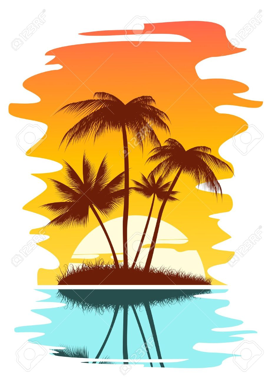 Sunset clipart Free of Sunset Sunset Clip