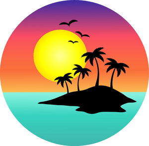 Islet clipart khajur Sunset%20clipart Sunset Free 20clipart Images