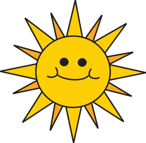 Sunshine clipart Clipart sunshine Sunshine com clip