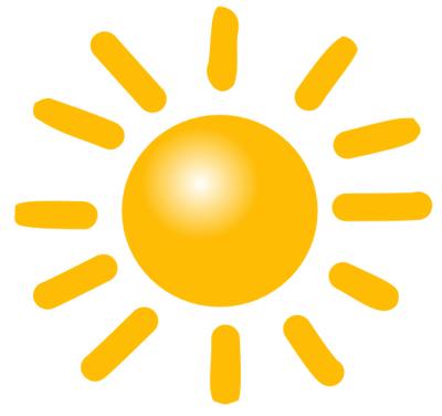 Sunshine clipart Clipart sun%20clipart Black Free Images