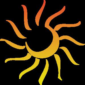 Abstract clipart sun Clker vector  Revised Sun