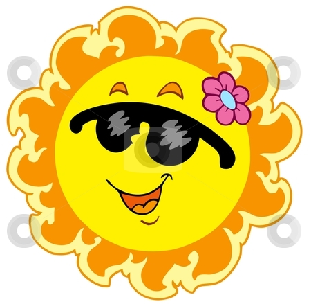 Yellow Flower clipart sunshine Clip Download sun summer sun