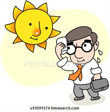 Warmth clipart sunny Clipart Hot Girl Icon weather: