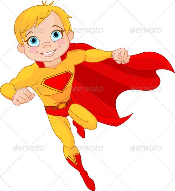 Super Girl clipart brave person Boy The in of Created: