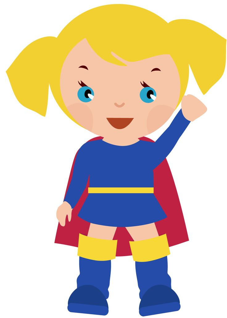 Super Girl clipart cartoon Find images Girl about 17